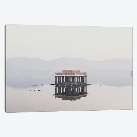 Jal Mahal, India II Canvas Print #GRM78} by Luke Anthony Gram Canvas Art Print