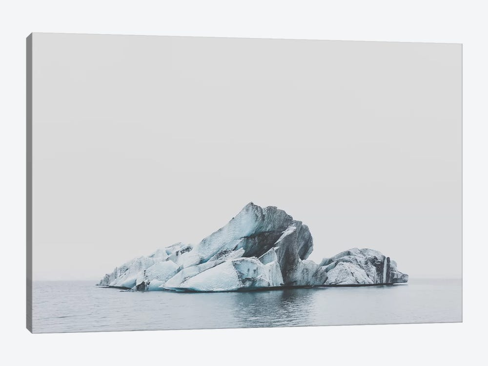 Jökulsárlón, Iceland by Luke Anthony Gram 1-piece Canvas Wall Art