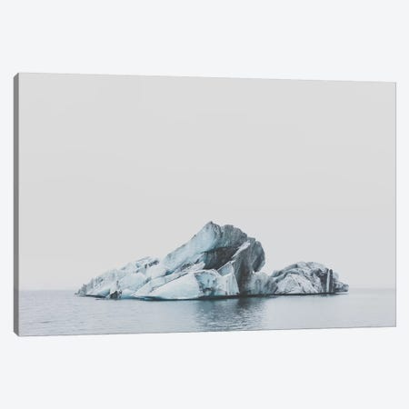 Jökulsárlón, Iceland Canvas Print #GRM80} by Luke Anthony Gram Canvas Art
