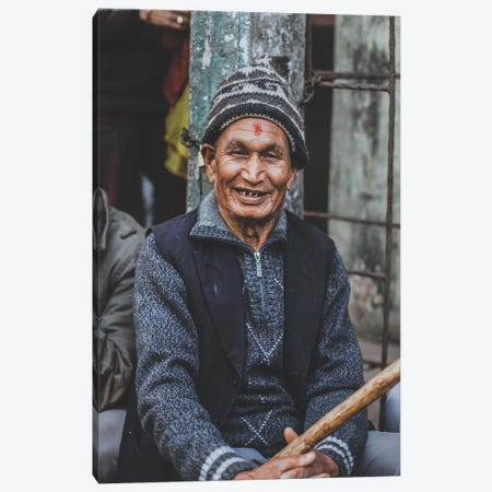 Kathmandu, Nepal Canvas Print #GRM82} by Luke Anthony Gram Canvas Wall Art