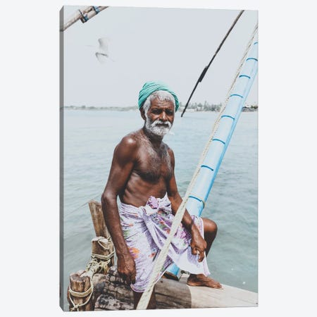 Kochin, India I Canvas Print #GRM86} by Luke Anthony Gram Art Print