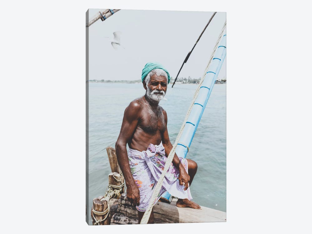 Kochin, India I by Luke Anthony Gram 1-piece Canvas Artwork