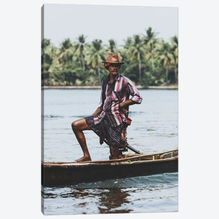 Kochin, India III Canvas Print #GRM88} by Luke Anthony Gram Canvas Wall Art