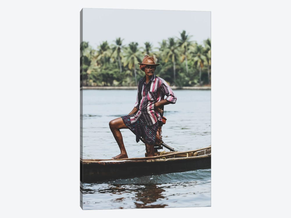 Kochin, India III by Luke Anthony Gram 1-piece Canvas Artwork