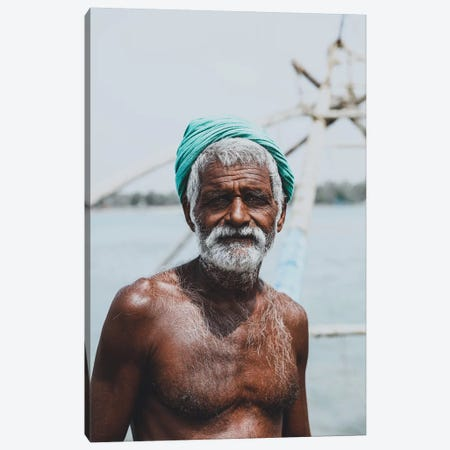 Kochin, India IV Canvas Print #GRM89} by Luke Anthony Gram Canvas Art