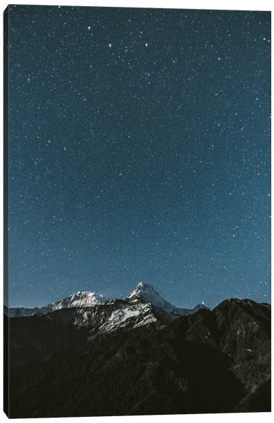 Annapurna Sanctuary, Nepal Canvas Art Print