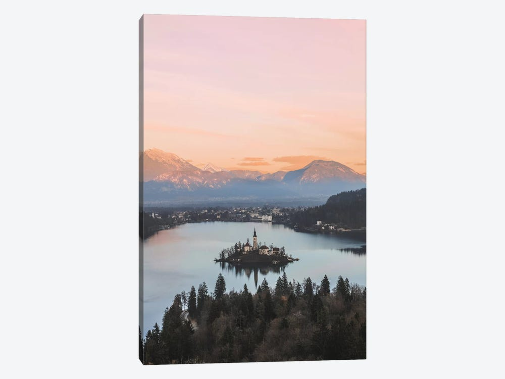 Lake Bled, Slovenia by Luke Anthony Gram 1-piece Canvas Art Print