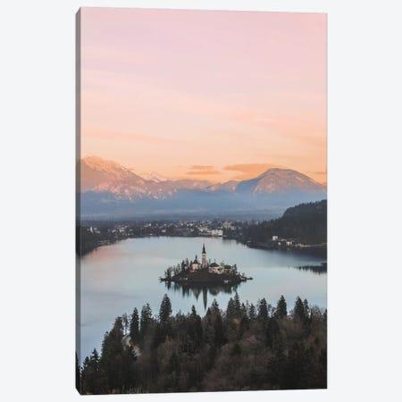 Lake Bled, Slovenia Canvas Print #GRM94} by Luke Anthony Gram Canvas Artwork