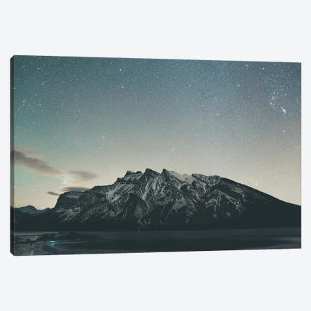 Lake Minnewanka, Alberta II Canvas Print #GRM96} by Luke Anthony Gram Canvas Wall Art