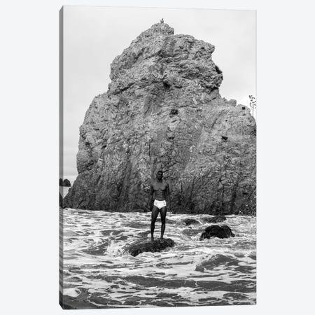 Nick In Malibu Canvas Print #GRP15} by Gregory Prescott Canvas Art Print