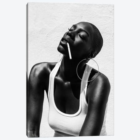 Smoking Canvas Print #GRP21} by Gregory Prescott Canvas Print