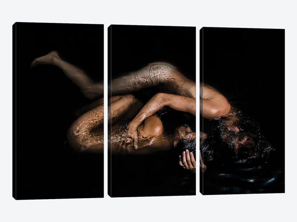 Submerge by Gregory Prescott 3-piece Canvas Print