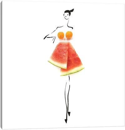 Tomato Melon Canvas Art Print