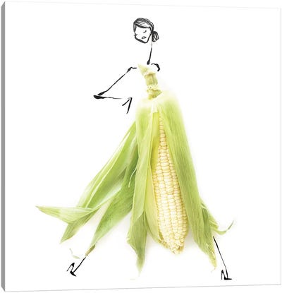 Yellow Corn Canvas Art Print