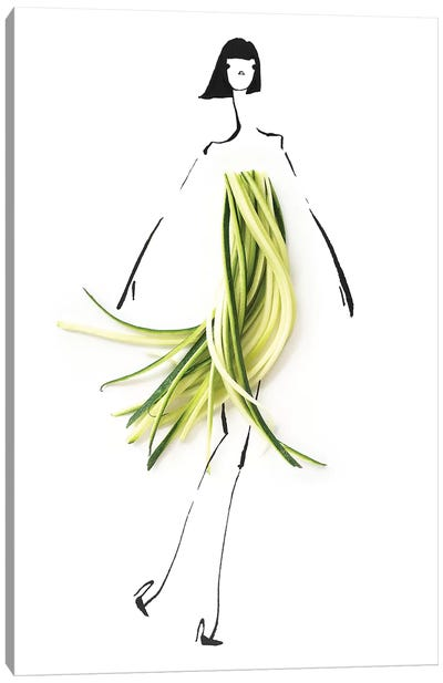 Zucchini Canvas Art Print