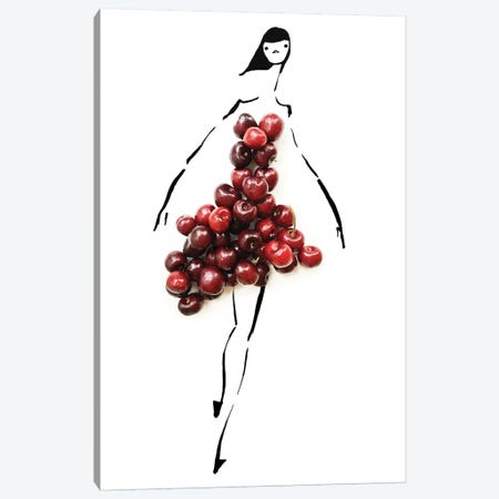 Cherrybomb Canvas Print #GRR18} by Gretchen Roehrs Canvas Wall Art