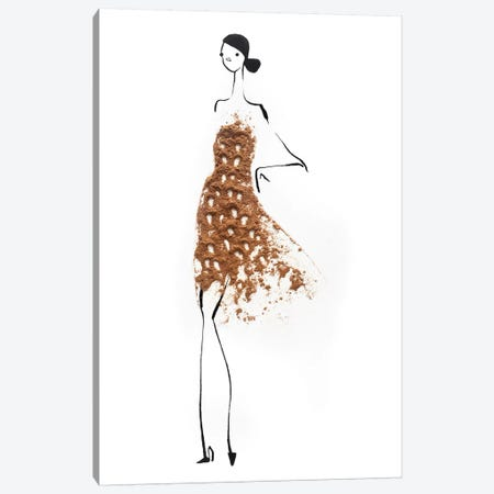 Cinnamon Canvas Print #GRR20} by Gretchen Roehrs Canvas Art Print