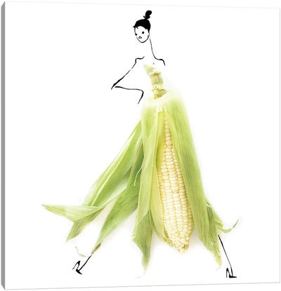 Corn Canvas Art Print