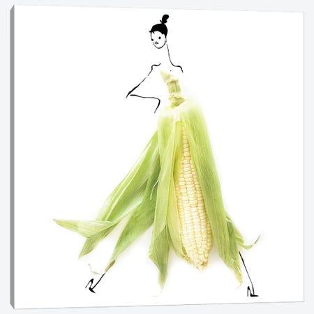 Corn Canvas Print #GRR23} by Gretchen Roehrs Art Print