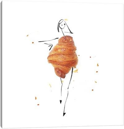 Croissant Canvas Art Print