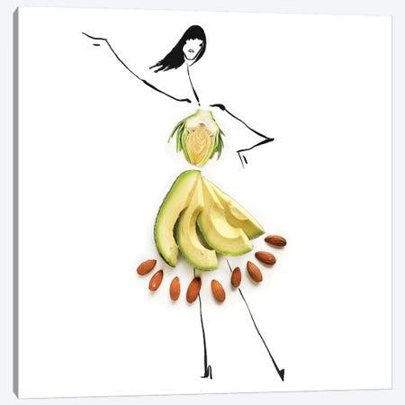 Avocado Canvas Print #GRR34} by Gretchen Roehrs Canvas Art Print