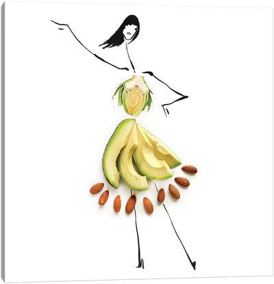 Avocado Canvas Art Print
