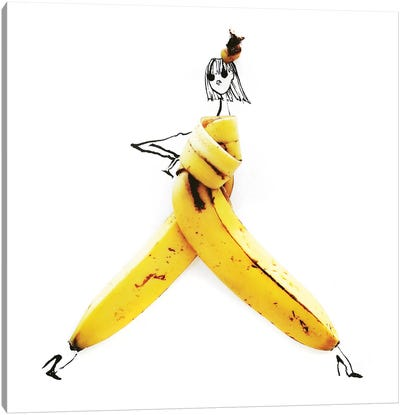Banana Canvas Art Print