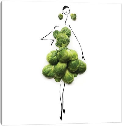 Green Sprouts Canvas Art Print