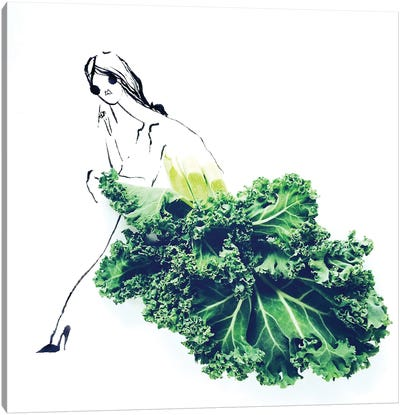 Kale I Canvas Art Print