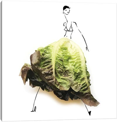 Lettuce I Canvas Art Print