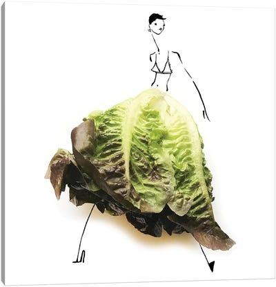 Lettuce I Canvas Art Print