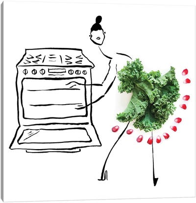 Kale II Canvas Art Print