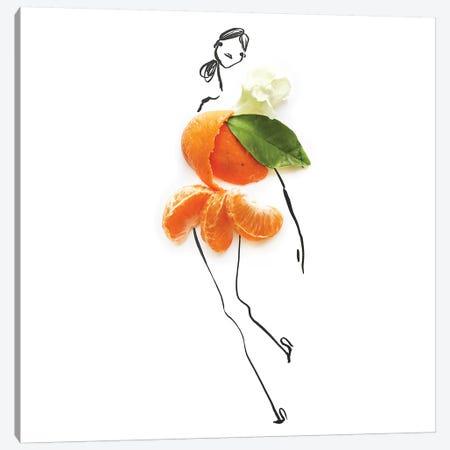 Orange Canvas Print #GRR60} by Gretchen Roehrs Canvas Art Print