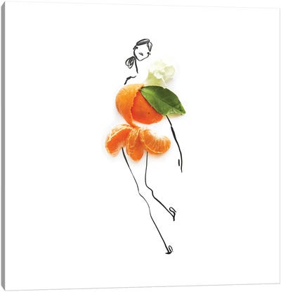 Orange Canvas Art Print