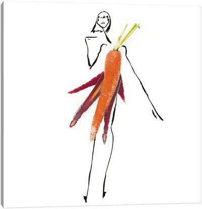 Orange Carrot Canvas Art Print