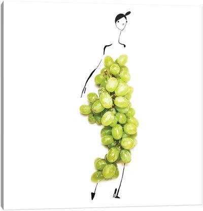 Green Grapes Canvas Art Print