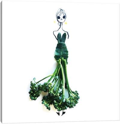 Broccolini Canvas Art Print