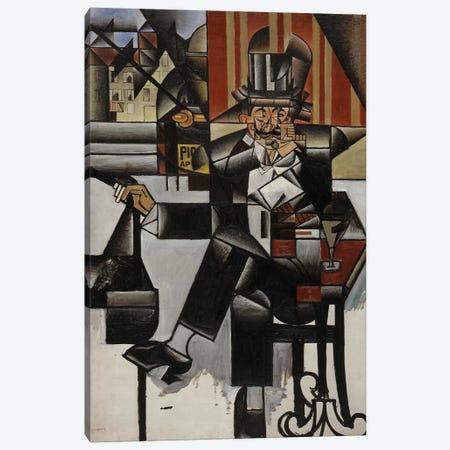 Un Homme au Café, 1912 Canvas Print #GRS1} by Juan Gris Canvas Wall Art