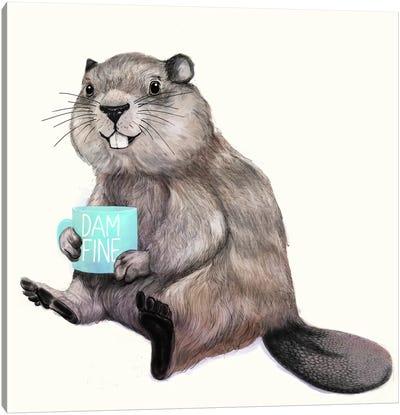 Damn Fine Coffee Canvas Art Print