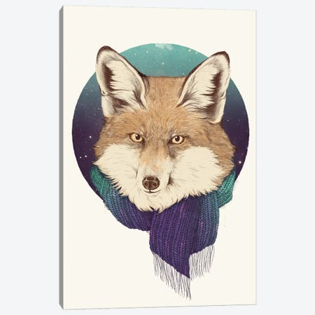 Fox Canvas Print #GRV14} by Laura Graves Art Print