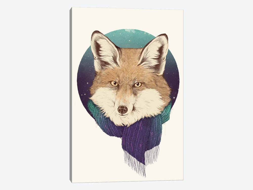 Fox by Laura Graves 1-piece Canvas Art Print