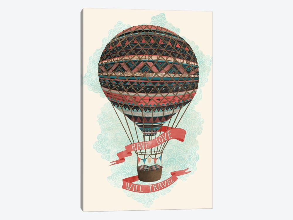 Have Love Will Travel by Laura Graves 1-piece Art Print