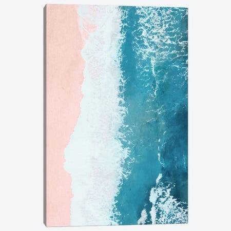 Just Beachy Canvas Print #GRV18} by Laura Graves Canvas Artwork