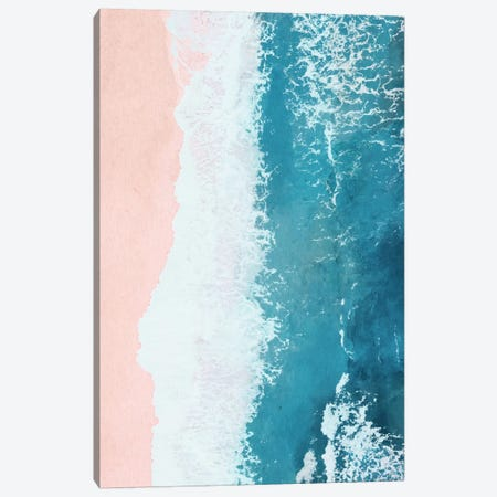 Just Beachy Canvas Print #GRV18} by Laura Graves Canvas Artwork