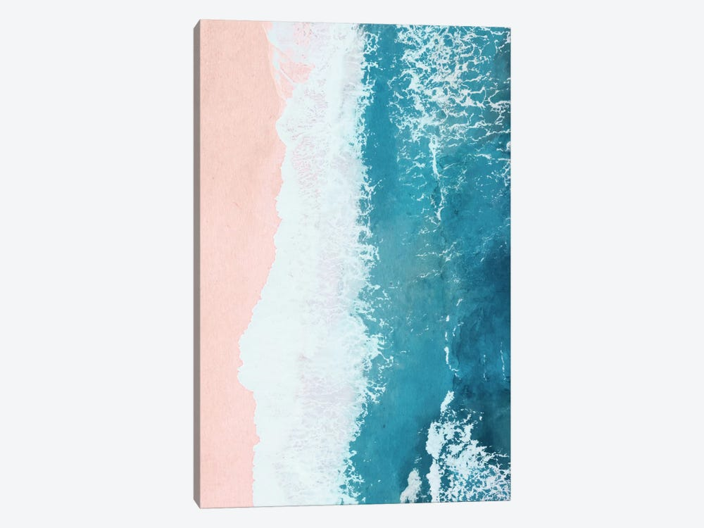 Just Beachy by Laura Graves 1-piece Art Print