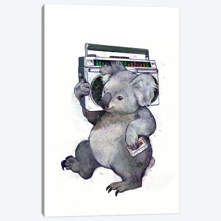 Koala Canvas Print #GRV19} by Laura Graves Canvas Art