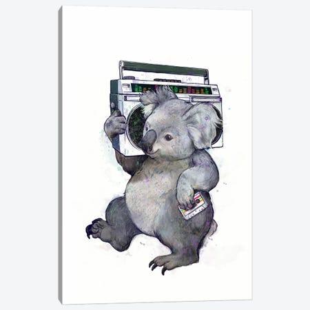 Koala Canvas Print #GRV19} by Laura Graves Canvas Art