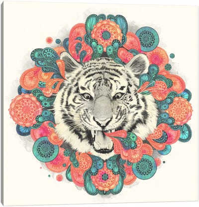 Bengal Mandala Canvas Art Print