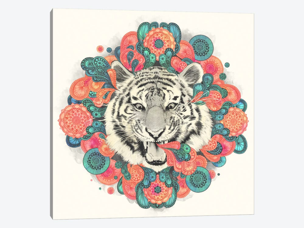Bengal Mandala by Laura Graves 1-piece Canvas Wall Art
