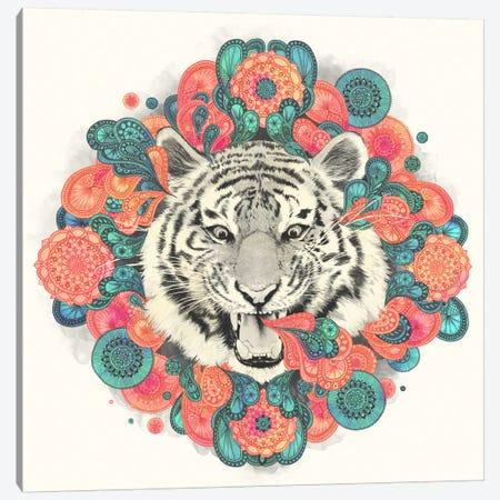 Bengal Mandala Canvas Print #GRV1} by Laura Graves Canvas Print